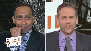 "Stephen A. Smith explains to Max Kellerman why he's finally jumping off the Los Angeles Lakers' NBA championship bandwagon, as the LA Clippers added Marcus Morris to a team of ""dogs"" like Kawhi Leonard and Paul George at the 2020 NBA trade deadline, while the Lakers did not get LeBron James and Anthony Davis any help -- nor will they be signing Darren Collison. #NBA #Sports #FirstTake #Lakers  ✔ Subscribe to ESPN+ https://plus.espn.com/ ✔ Get the ESPN App: http://www.espn.com/espn/apps/espn ✔ Subscribe to ESPN on YouTube: http://es.pn/SUBSCRIBEtoYOUTUBE ✔ Subscribe to ESPN FC on YouTube: http://bit.ly/SUBSCRIBEtoESPNFC ✔ Subscribe to NBA on ESPN on YouTube: http://bit.ly/SUBSCRIBEtoNBAonESPN ✔ Watch ESPN on YouTube TV: http://es.pn/YouTubeTV  Exclusive interviews with Rachel Nichols https://urlzs.com/jNURe Stephen A. Smith on ESPN https://urlzs.com/W19Tz  ESPN on Social Media: ► Follow on Twitter: http://www.twitter.com/espn ► Like on Facebook: http://www.facebook.com/espn ► Follow on Instagram: www.instagram.com/f/espn  Visit ESPN on YouTube to get up-to-the-minute sports news coverage, scores, highlights and commentary for NFL, NHL, MLB, NBA, College Football, NCAA Basketball, soccer and more.   More on ESPN.com: https://www.espn.com"