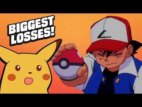 Ash Ketchum's Biggest Ls In The Pokemon Anime