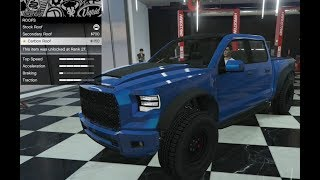 GTA 5 - DLC Vehicle Customization - Vapid Caracara 4x4 (Ford Raptor) and Review