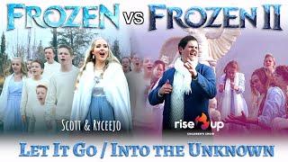 Let It Go Into The Unknown   EPIC Disney Mashup (Frozen  Frozen 2)   Ft. Rise Up Children's Choir