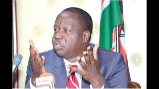 CS Matiangi reveals how politicians often interfere with Form One Selection
