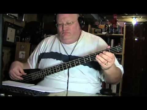 Kiss Naked City Bass Cover