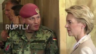 Germany: DefMin visits former barracks of Franco A,