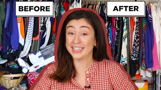 How I Gave My Friends Messy Closet A Complete Makeover
