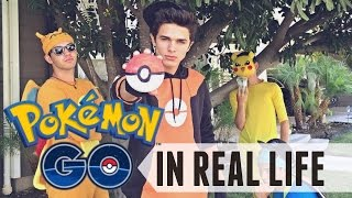 Pokémon Go In Real Life | Brent Rivera