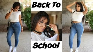 Back To School ♡ GRWM || Makeup, Hair(Omgherhair) & Outfit - Video Youtube