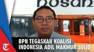 Demokrat Dikabarkan Gabung Dukung Jokowi, BPN Tegaskan Koalisi Indonesia Adil Makmur Masih Solid