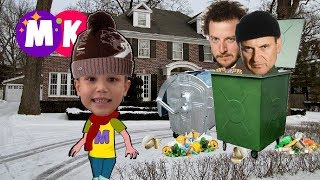 Серия 3  Мистер Макс и Мисс Кети одни дома  Новогодние приключения