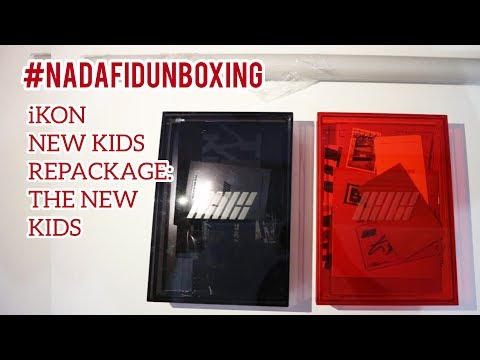 UNBOXING IKON The New Kids Repackage _ 아이콘 더뉴키즈 리