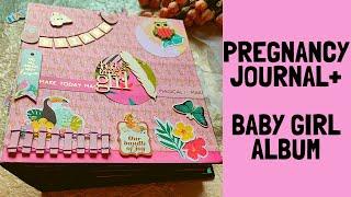 Pregnancy Journal+Baby Album | Baby Record Book | Baby Book