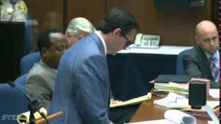 Conrad Murray Trial   Day 10, Part 2