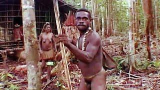 В гости к каннибалам. To Visit Cannibals. Papua.
