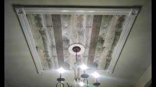 Are you ignoring your ceilings?!  Make a 'Statement Ceiling Focal Point'
