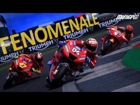 IL VERO NU ROSSI: GARA FENOMENALE! - MotoGP 19