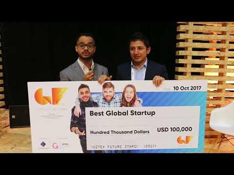 Sadeem- Best Global Startup Grand Prize Winner of Supernova Pitch Competition 2017