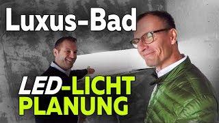 Lichtplanung für Luxus-Bad: Neubau KNX Smart Home | Smartest Home - Folge 17