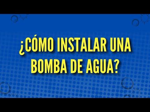 Instalación de una bomba de agua / Ingenieros Sanitarios Makoto