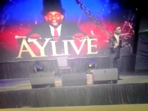 I GO DYE'S at Ay live comedy show on stage complete happiness 2015/2016 performance