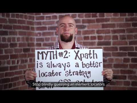 Sauce Labs Automated Testing Mythbusters - Xpath Does Not Mark The Spot Related YouTube Video