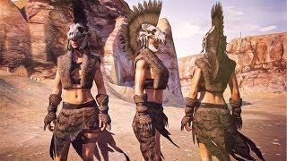 Conan Exiles - Punk Rock Armor! Hyena Armor Set (Easy!!)