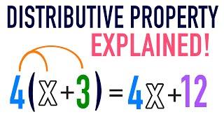 Distributive Property Of Multiplication Explained!