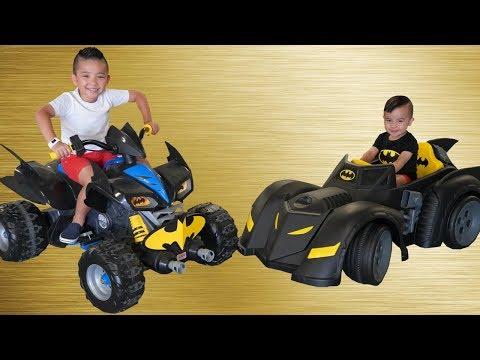 a71ac04c6 Batmobile Bat Bike Ride On Cars kids Racing Fun With Ckn Toys - Action.News  ABC Action News Santa Barbara Calgary WestNet-HD Weather Traffic