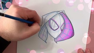 You Can Draw Ghost-Spider! | Marvel Draw!