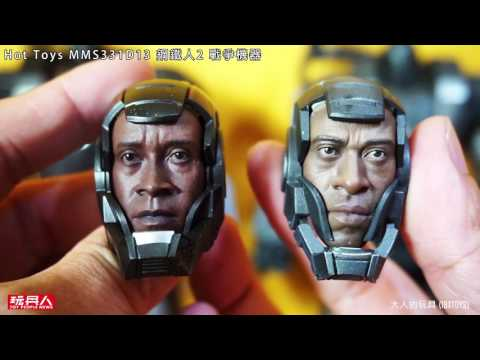 Hot Toys MMS331D13 戰爭機器 1/6 合金 War Machine 完整介紹開箱