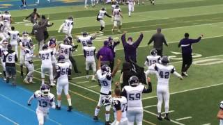 Tottenville's Jason Feldman records game-winning 2-point conversion