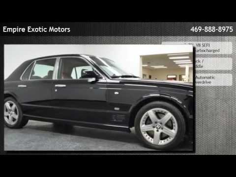 2006 Bentley Arnage Mulliner Spec  - Addison, TX
