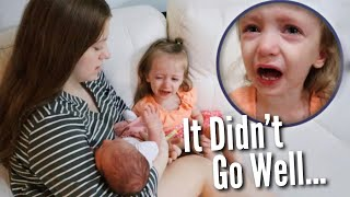First Time Meeting Her Baby Sister | Teen Mom Vlog