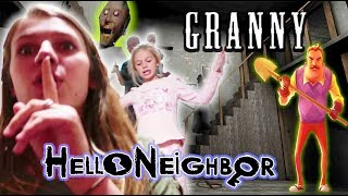 Video Granny and Hello Neighbor Together in REAL LIFE! MP3, 3GP, MP4, WEBM, AVI, FLV September 2019