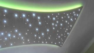 Csillagos égbolt LED-ekkel