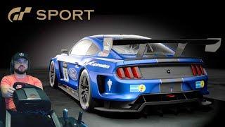 Gran Turismo: Sport — 10 кругов Monza в онлайне с дикими соперниками