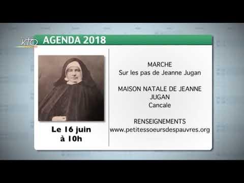 Agenda du 18 mai 2018