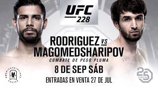 UFC 228: Забит Магомедшарипов против Яира Родригеза