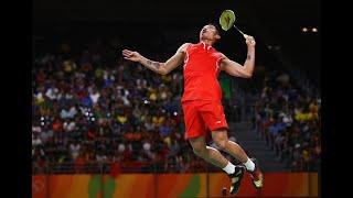 Badminton Smash Technique(Slow Motion)