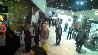 CES 2015 Flixel in the Panasonic Booth
