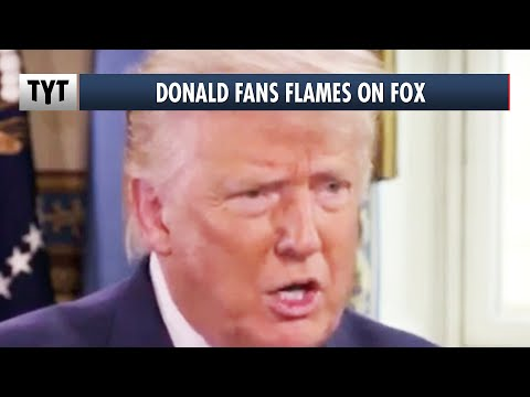 Trump Fans Violent Flames On Fox News