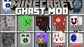Minecraft GHAST MOD / FIGHT OFF THE EVIL UR-GHAST AND SURVIVE!! Minecraft