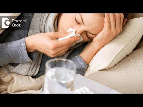 Video What are the symptoms of swine flu? - Dr. Cajetan Tellis