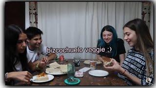 cocinamos bizcochuelo vegano y fue UN DESASTRE