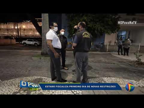 Pernambuco inicia fiscalização de serviços não essenciais para cumprir as medidas contra a covid-19