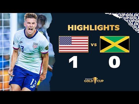Highlights: USA 1-0 Jamaica - Gold Cup 2021