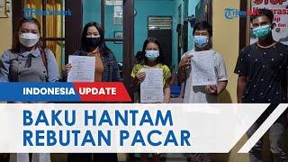 VIDEO Permintaan Maaf 2 ABG di Kalimantan Tengah Cekcok hingga Baku Hantam karena Rebutan Pacar