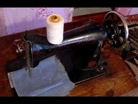 Швейная машинка Зингер ПМЗ перснятое видео