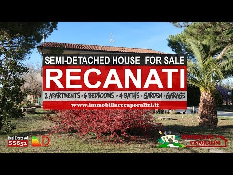 Immobiliare Caporalini real-estate agency - Semi-detached house - Ad SS651 - Video