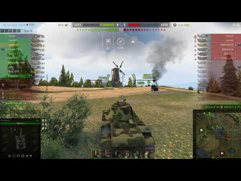 world of tanks 2019 карта Малиновка, прогулка на КВ 3