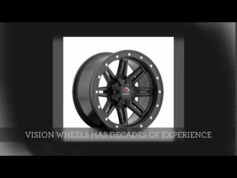 Vision Wheel 393 Lockout & 550 Five-Fifty for UTVs