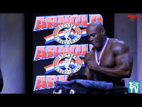Arnold Classic Columbus 2016 Pro Wheelchair Final